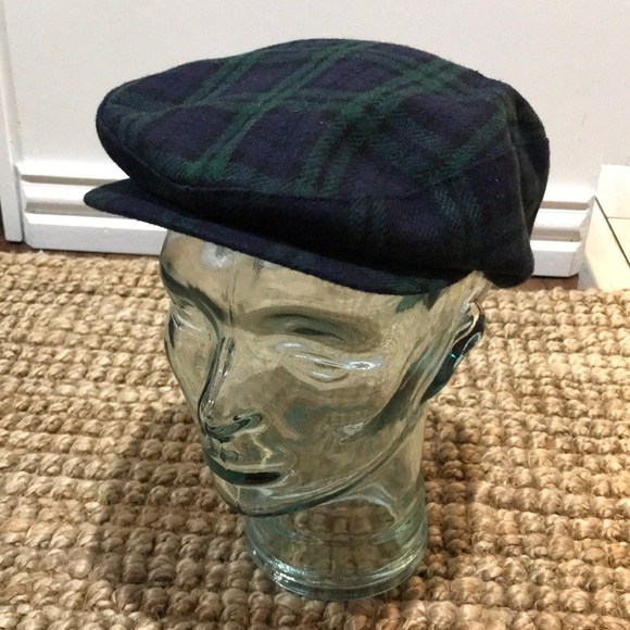 45023e37ebe Kangol Other - Vintage Plaid Kangol Driving Hat